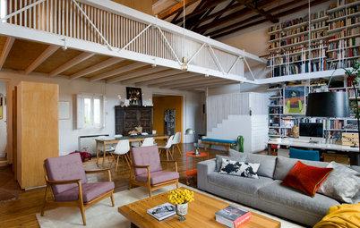 Casas Houzz: El hogar 'vivo' de un arquitecto en Madrid