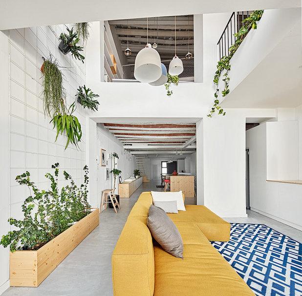 Scandinavian Living Room by TheHallStudio