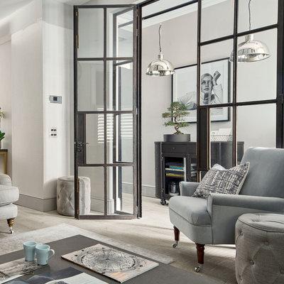 Industrial Living Room by Laura Ashley Decoración