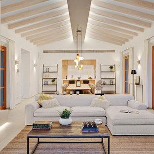 Mediterranes Wohnzimmer in Palma de Mallorca