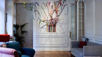 Comisariado exposición en el Club Alma, Madrid