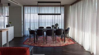 Cortinas con estilo para espacios contemporáneos