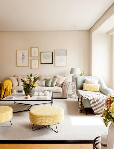 Klassisch modern Wohnbereich by NATALIA ZUBIZARRETA INTERIORISMO