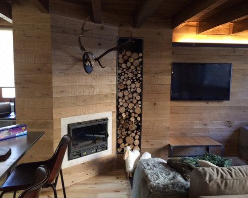 skandinavische wohnzimmer mit hausbar ideen design. Black Bedroom Furniture Sets. Home Design Ideas