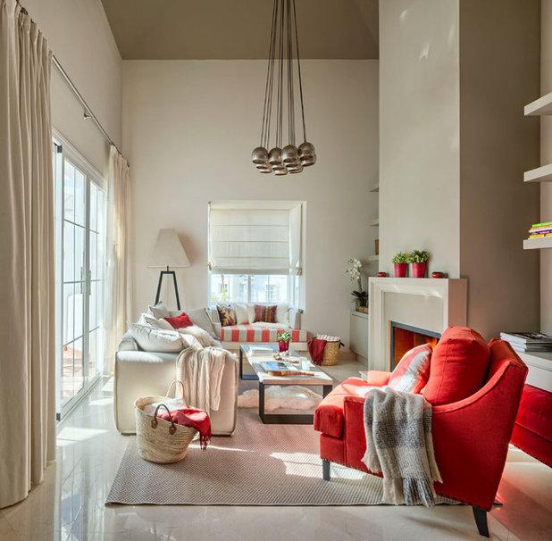 Descubre qu cortina le va a tu casa con los consejos de 4 for Visillos estores para salon