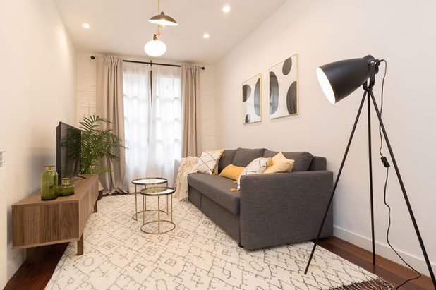 Scandinavian Living Room by Become a Home