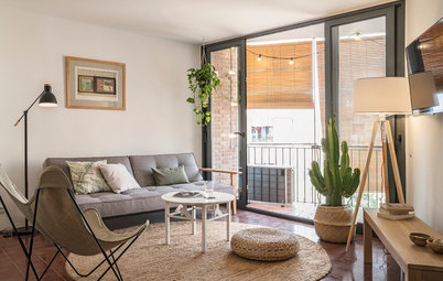 Houzz Tour: A Poky 1960s Flat is Given a Light, Bright Update