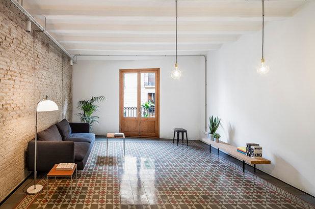 Contemporáneo Salón by CRÜ studio