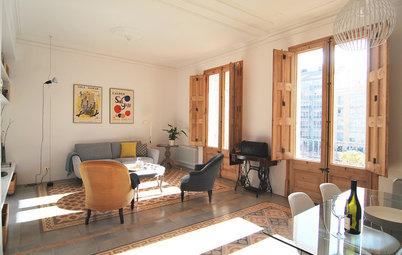 Casas Houzz: Modernismo 'chic' en el Ensanche barcelonés