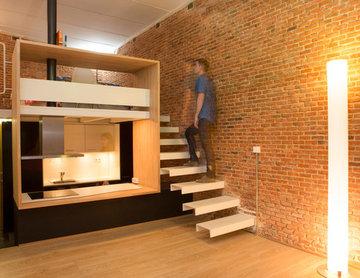Loft Andrés Borrego diseñado por Beriot, Bernardini arquitectos