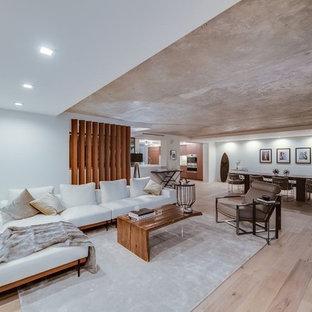 Ocean Ave LA Remodeling Living Room