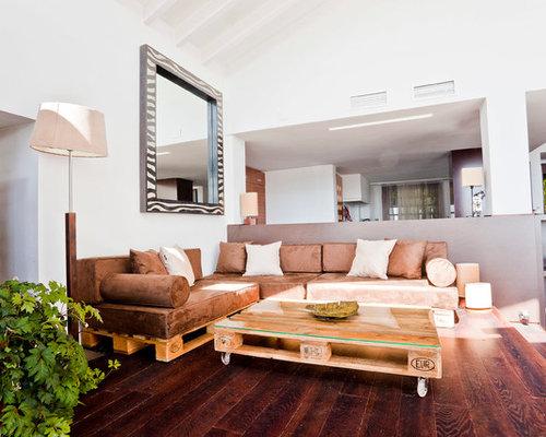 ejemplo de saln para visitas abierto tradicional renovado de tamao medio sin chimenea - Ideas Para Salones