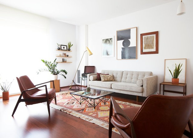 Midcentury Living Room by A&B Curated