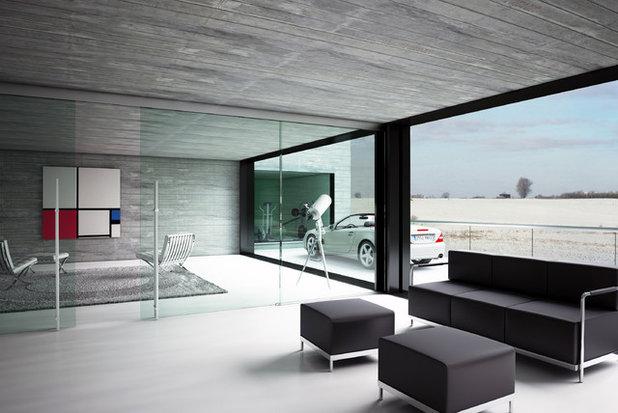 Muros de vidrio d nde y c mo ubicarlos para ganar en luz for Muro de separacion terraza