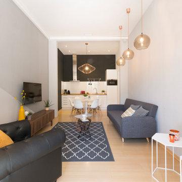 Reforma de apartamento pequeño