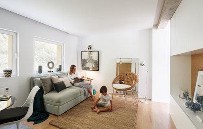 Casas Houzz: La funcional reforma de un piso de 50 m² en Asturias