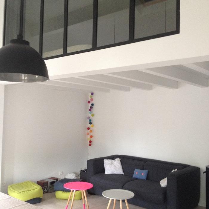 Extension d'un appartement à Biarritz