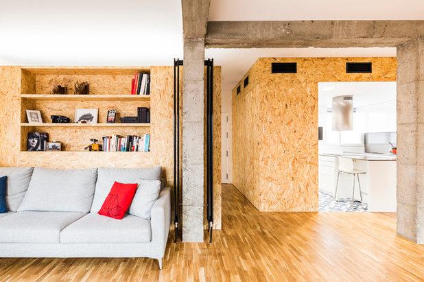 インダストリアル リビング by DTR_studio arquitectos