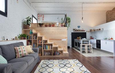 Avant/Après : Un garage transformé en loft pour 55 000 euros