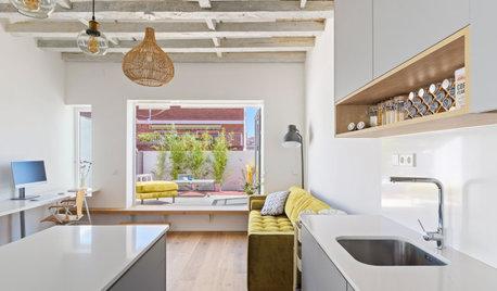 Casas Houzz: La reforma de un pequeño ático en Madrid de 30 m²