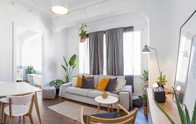 Casas Houzz: Un piso de 60 m² en Valencia aprovechado al máximo