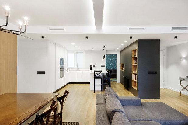 Contemporáneo Salón by dCMarquitectura