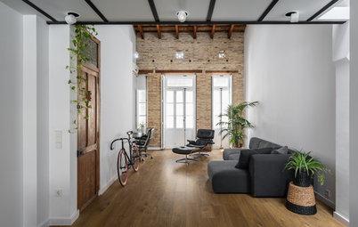 Casas Houzz: Un loft de 57 m² en Valencia con rincones ocultos