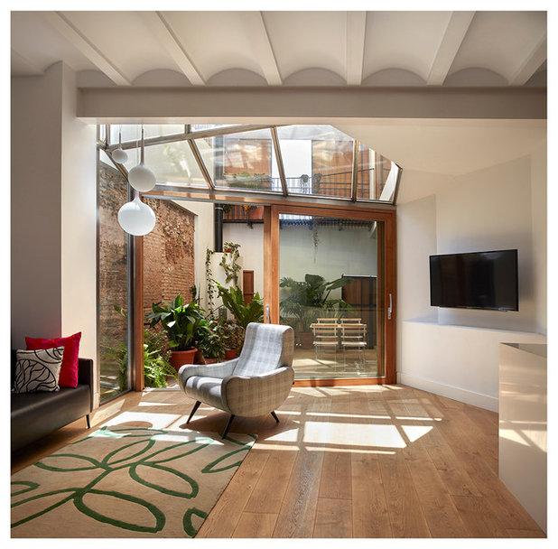 Casas houzz la nueva vida de una vivienda de pueblo en for Casa decoracion valencia