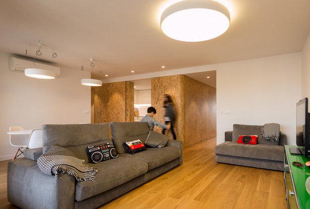 Contemporáneo Salón by Ecoproyecta