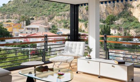 Un piso con una espectacular zona de día abierta al paisaje