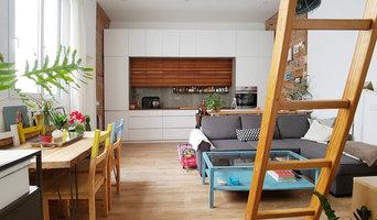 SE15 Loft - Cocina y Salon