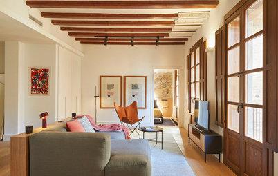 Casas Houzz: Un piso luminoso, funcional y muy bien decorado
