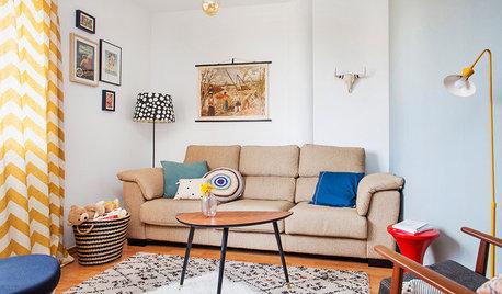 Cómo decorar un salón de 15 m² para que parezca más grande