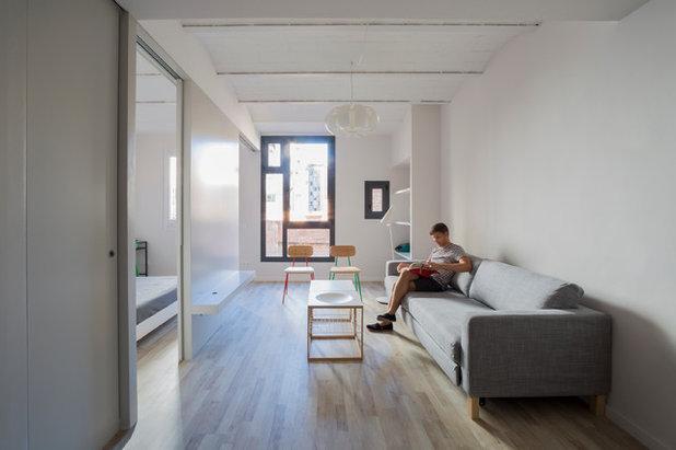 Contemporáneo Salón by Nook Architects