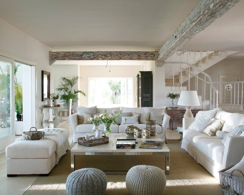 gray living room design ideas remodels photos with porcelain floors