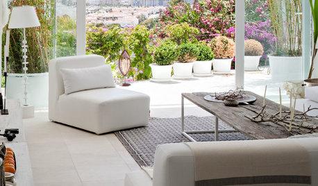 5 espacios de estar abiertos al exterior que triunfan en Houzz