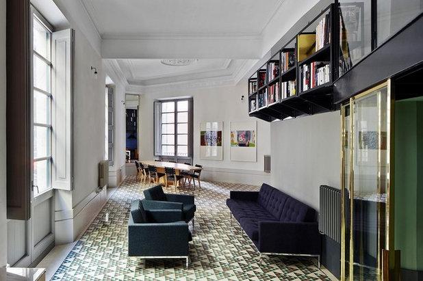 Eklektisk Vardagsrum by Brick