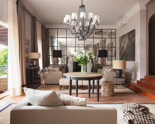Madrid Taupe Beige Ultra Modern Living Room Furniture 3: Living Room Design Ideas, Renovations & Photos With Terra