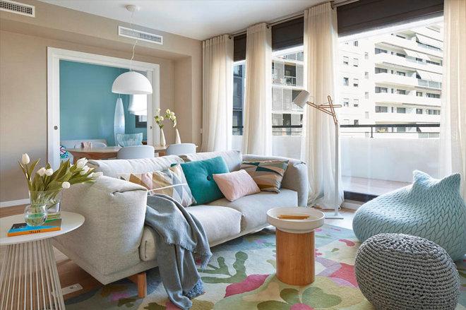Scandinavian Living Room by The Room Studio
