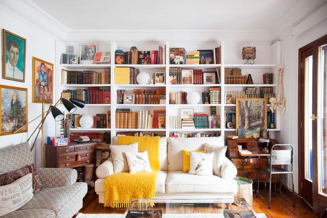 Eclectic Living Room by Elisabet Brion interiorista