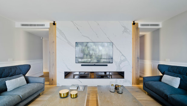 Contemporáneo Salón by Estudio CODE