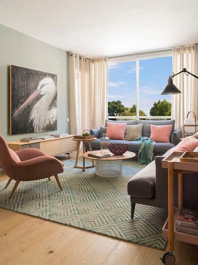 Contemporáneo Salón by The Room Studio