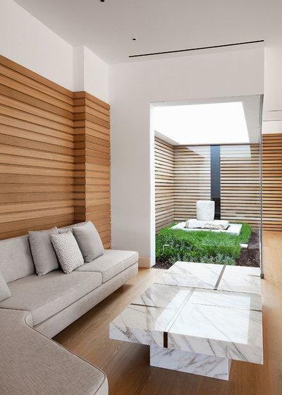 Contemporain Salon by BC Estudio Architects
