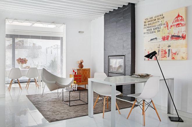 Contemporáneo Salón by e+e arquitectura