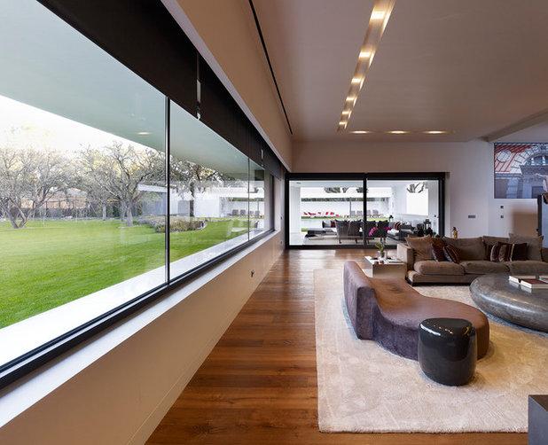 Contemporáneo Salón by Dahl Ghg Architects SLP