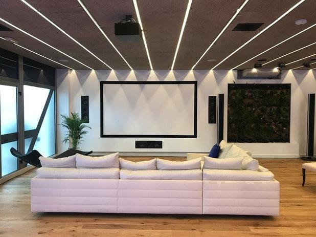 Contemporáneo Salón by DIGITAL LUXE
