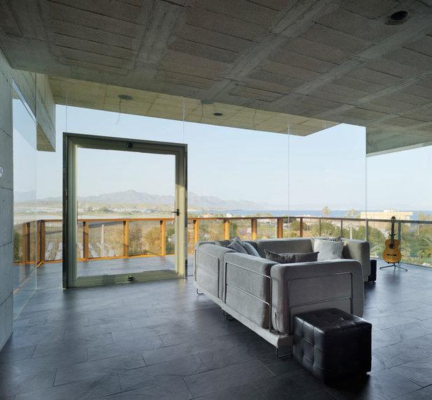 Contemporáneo Salón by xpiral arquitectura