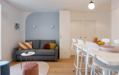 Avant/Après : Un ancien bureau parisien devient cocon cosy