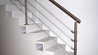 35m2 Dijon Centre - Escalier sur rangement + verrière industrielle