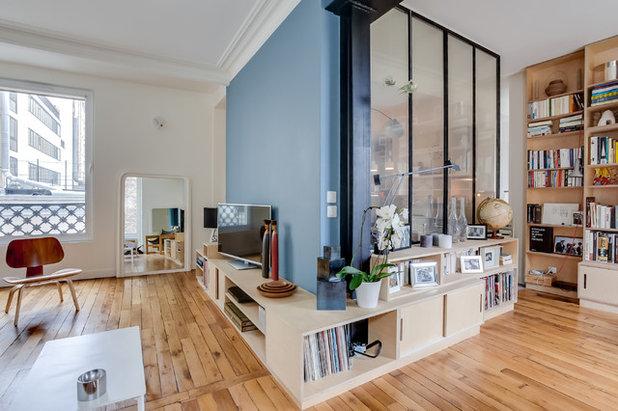 Scandinavian Living Room by Dorner Design